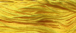 Jill's Lemon Drink 6 strand hand dyed embroidery floss 5yd skein Ship's Manor  - $2.00
