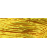Jill's Lemon Drink 6 strand hand dyed embroidery floss 5yd skein Ship's ... - $2.00