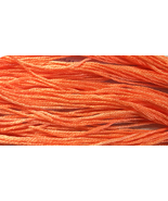 Sharrin's Peach 6 strand hand dyed embroidery floss 5yd skein Ship's Manor  - $2.00