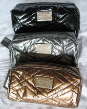 Kenneth Cole Reaction Domed Pouch New Clutch Purse Women's Quilted Metal... - $12.79