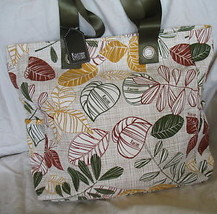 New Tote Bag Per Purse Casual Earth Tones Kristine Large 12 Inch X 13
