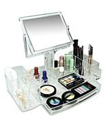 Luxury Acrylic Cosmetic Organizer Two Sided Mir... - $44.64
