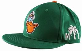 Cousins Miami Cool Pelican Fisherman Captain Palm Tree Snapback Baseball Hat NWT image 2