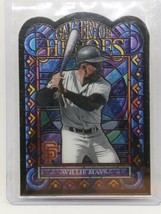 WILLIE MAYS 2013 Topps Gallery of Heroes Insert Card  - $59.39
