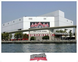 NHL Joe Louis Arena Detroit Red Wings Hockeytown Color 8 X 10 Photo Picture - $6.99