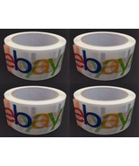"Ebay Logo Branded Shipping Packaging Packing Tape-75 yards x2"" Free Ship... - $22.74"