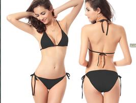 Sexy Classic Women Bikini SET Bra Swimsuit Bandage Push-up Swimwear summ... - $22.00