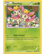 Deerling 8/124 Common Fates Collide Pokemon Card - $0.49