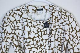 Nwt J Crew Jacket Coat Belt Short Sleeve One Button Giraffe Women's Size 2 - $24.49