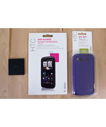 HTC SENSATION T-MOBILE LOT OF ACCESSORIES CASE SCREEN PROTECTORS BATTERY - $10.18