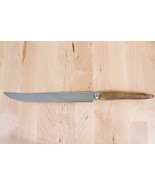 TAYLOR WITNESS SHEFFIELD KITCHEN KNIFE WOODEN HANDLE STAINLESS STEEL ENG... - $11.75