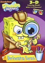 Private Eyes (SpongeBob SquarePants) (3-D Coloring Book) by Golden Books... - $7.92
