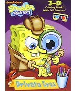 Private Eyes (SpongeBob SquarePants) (3-D Coloring Book) by Golden Books... - £6.32 GBP