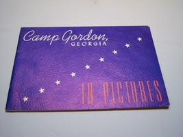 Vintage Collectible 1940's Camp Gordon, Georgia In Pictures Book - $128.69