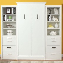 Athena Twin Wall Bed with 2 Storage Cabinets - £2,224.06 GBP