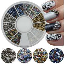 Gam-Belle® Mixed Color Chameleon Rhinestone Irregular Beads 3D Nail Art ... - $2.48