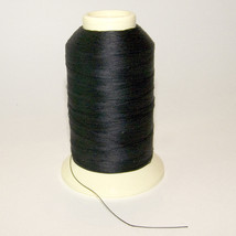 Polyester Thread, Bonded, Thread-4 oz. Spool, Black - Size DB-92 T-90 - $20.19