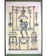 POMPEI Brinze Metal Work Utensils Drunken Faun ... - $19.75