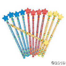 Star Student Pencils with Eraser Tops  - $9.11
