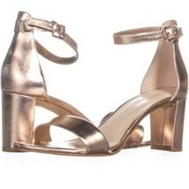 Nine West Pruce Ankle Strap Sandals 538, Pink, 7 US - $29.75