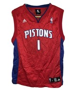 Adidas Brand NBA Pistons Jersey Billups Number 1 Youth Size Large 14-16 - $19.79