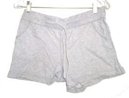 Size S (4-6) - Faded Glory Light Gray Ash 100% Cotton Shorts w/Drawstrin... - $14.24