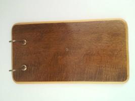 "Vero Holland 10"" Wooden Board Reciept Note Holder With Hook - $17.99"