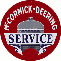 McCormick Deering Service Station and Gas Sign - $25.74
