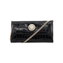 Versace Jeans Clutch Handbag; Lined Organized Interior, One Handle, Visi... - $104.77
