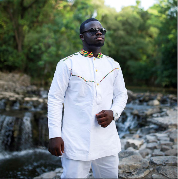 Men Long Sleeve Shirt and Trousers Men African Clothing African Clothing Men