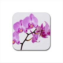 Pink Orchid Non-Slip Coaster Set - $6.74