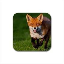 Red Fox Non-Slip Coaster Set - $6.74