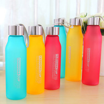 New Popular 600ML 800ML Portable Leakproof Shatterproof Frosted Mug Plas... - $8.22+