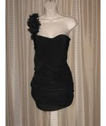 M (S) Womens Girls Sexy Stylish Black  One- Strap Mini Dress - $13.99