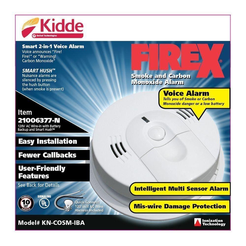 kidde hardwired smoke carbon monoxide alarm combination. Black Bedroom Furniture Sets. Home Design Ideas
