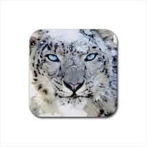 Snow Leopard Non-Slip Coaster Set - $6.74