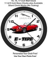 1974 Jaguar E-Type Wall Clock-Free US Ship - $27.71+