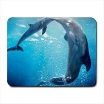 Underwater Dolphins Mousepad (Neoprene Non-slip Mousemat) - $7.71