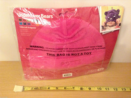 NWT Lug Undercover Bears Soft Plush Kids' Cubs Cap w/ Ears Agent Potts Rose Pink