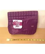"NWT Lug ""Somersault"" Shoulder Pouch Mini-Messenger Bag Purse in Plum Purple - $54.44"