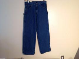 WearGuard Men's Size 34/32 M Denim Jeans Carpenter Loop Work Pants Medium Wash