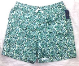 CLUB ROOM BOARD SHORTS GREEN X-LARGE - $9.89