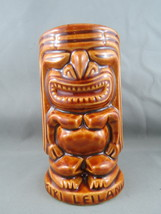 Vintage Tiki Mug - Ku Design - Tiki Leilani - Double sided Tiki - $45.00