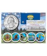 2015 America The Beautiful COLORIZED Quarters U... - $17.59 CAD