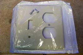 NEW Leviton 001-86005 2 Gang Wall Plate Toggle/Duplex ( Ivory) - $1.49