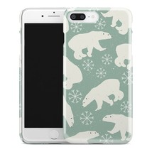 Casestry | Light Green Polar Bears And Winter Snow | iPhone 7 Plus Case - $11.99