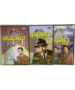 Dragnet Volumes 1,2,3 starring Jack Webb DVD Television series - $7.95
