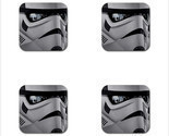 Star wars stormtrooper 28 rubber square coaster  4 pack  meitu 71 thumb155 crop