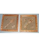 Skeleton Key Plaques (2) - $40.00