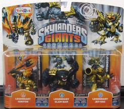 Skylanders Giants Legendary 3-pack: Ignitor, Slam Bam, and Jet-Vac - $50.00